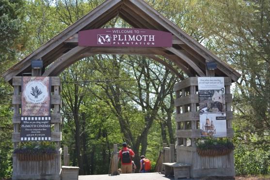 Plymouth Plantation Entrance