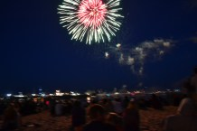 Whaler's wharf - amazing view of the fire works