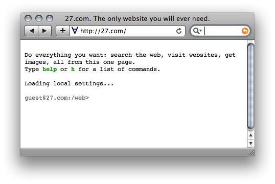 goosh. The Google Shell.