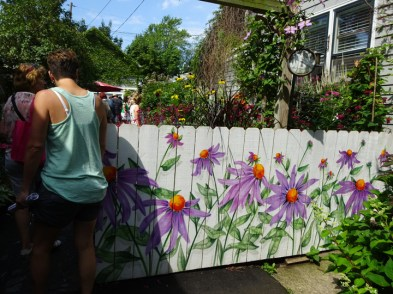 Fence in Bloom