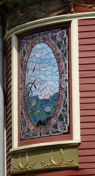 Stain Glass Swan Buffalo 1