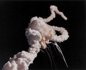 チャレンジャー号爆発事故(1986年1月28日)