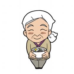 るみばあちゃんと池上製麺所ツイッター