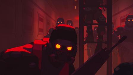 『ラブ、デス&ロボット(Love,Death & Robots)』「ブラインド・スポット(Blind Spot)」(9分)