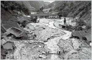 「三六災害」は、台風の影響で天竜川が氾濫した大災害