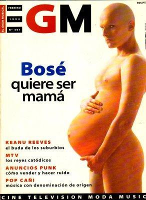 Artista y madre en la vida. (vía)