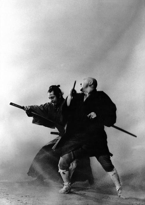 oyasumi-ai:   except-musume:  yasunao:  thinkupstudio:  ak47:  tobsoya4:  twink: Zatoichi meets Yojimbo.      (via kagurazakaundergroundresistance, ladysnowblood) 2009-11-18