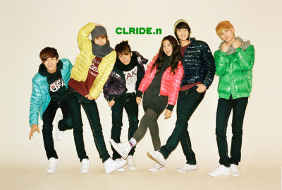 with SHINee for CLRIDE.n F/W