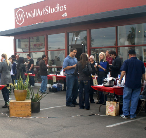 Wall Art Studios Chili Cook-Off 2009