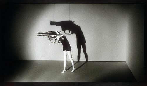 john-james:  kiske:  twink:  Laurie Simmons: Walking Gun (1998.440) | Heilbrunn Timeline of Art History | The Metropolitan Museum of Art
