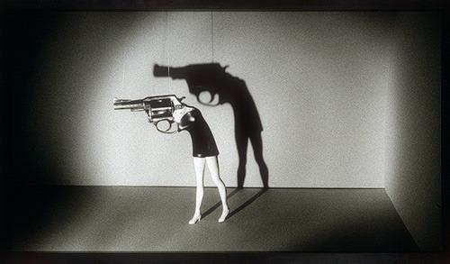 john-james:  kiske:  twink:  Laurie Simmons: Walking Gun (1998.440) | Heilbrunn Timeline of Art History | The Metropolitan Museum of Art