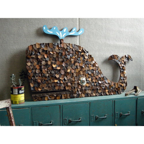 Scaly Whale Wall Art
