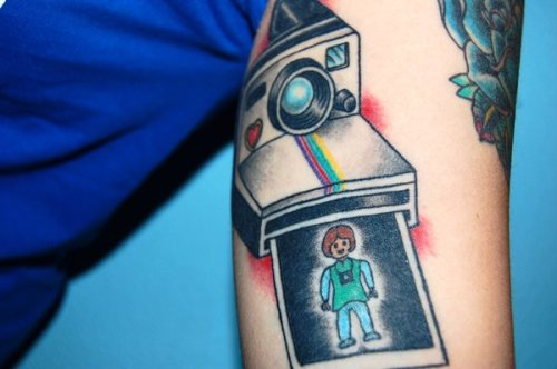 My tattoo <3 Polaroid