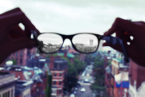 You only see what you want to see! and hear what you want to hear ..