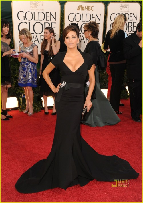 Eva Longoria is the sexiest wicked witch ever. She casts her spells with her boobies.