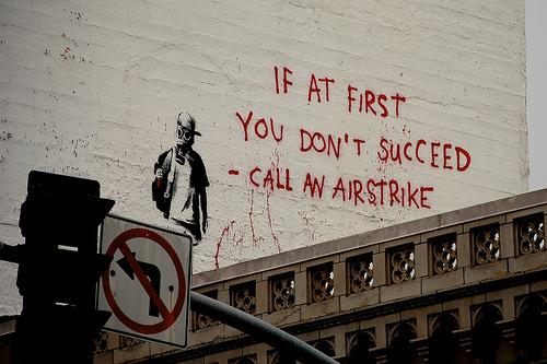 marrypotter:  Banksy by Olivia Perillo