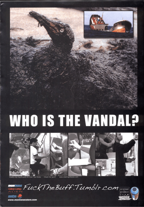 """Who Is the Vandal ? "" Xplicit Grafx, 2003"