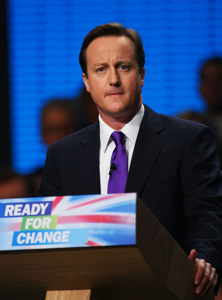 David Cameron worries that not EVERYONE is quite ready for change.