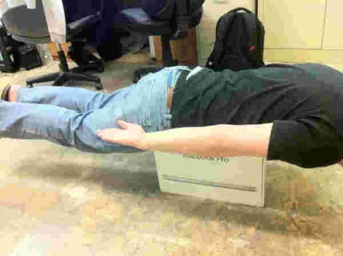 Haters gonna hate. NOW THAT'S HOW YOU iPLANK!!