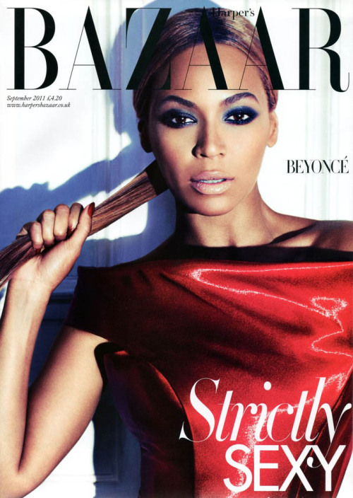 Beyonce's Harper's Bazaar September 2011 Cover…Strictly Sexy