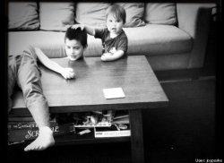 3 kids horeseman