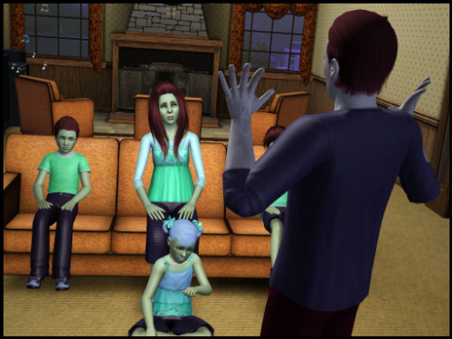 """""""So you are all probably wondering why I gathered you here today? Well, it is time to choose the next heir. So here is what we are going to do. We will go around the room and each one of you will give some main points on why you should be the next Licorice.""""  """"This seems highly inapro Dad…""""  """"He is joking right?""""  """"Hmmm, I don't think so.""""  """"Ok Eden since you are the eldest you can go first."""" """"Great…Okay, well, I guess I would be a good heir because I am responsible, and hardworking? Oh, and I love children.""""  """"Shammy you are up next."""" """"Okay! I would be great next heir, because I am awesome, and funny, and pretty, and I would make pretty babies.""""  """"Salem."""" """"This is stupid…""""  """"Misty, it's your turn sweetheart."""" """"Ummm, well…ummm."""" """"It's okay, go ahead."""" """"Well, I love to play house with my dolls, and I love taking care of other people.""""  """"Pffff, you all know this is just a formality. I am gonna win. Right Dad?""""  """"Right?"""" """"Errrrr…"""" ————————————— Gen 4 - Chapter: Spindle"""