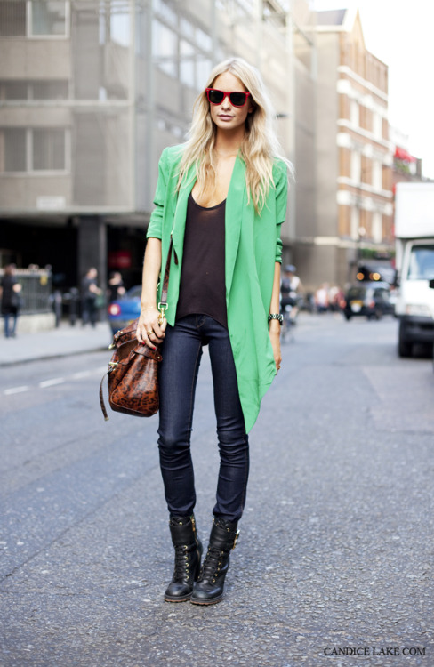 Poppy Delevingne, London Fashion Week, SS12