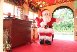 Inside Santa's Den