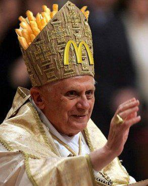 flyingscotsman:  McPope Benedict XVI (via)