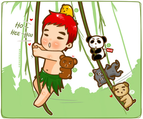 2PM in Jungle >