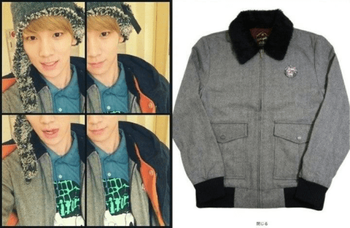 Key Wore The Jacket That Jonghyun Brought For Him ! Share By L★verSHINeee Source 빛나는 SHINeeWorld'ㅂ'