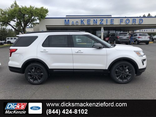 small resolution of new 2019 ford explorer xlt 4wd