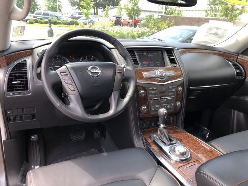 small resolution of pre owned 2018 nissan armada sl