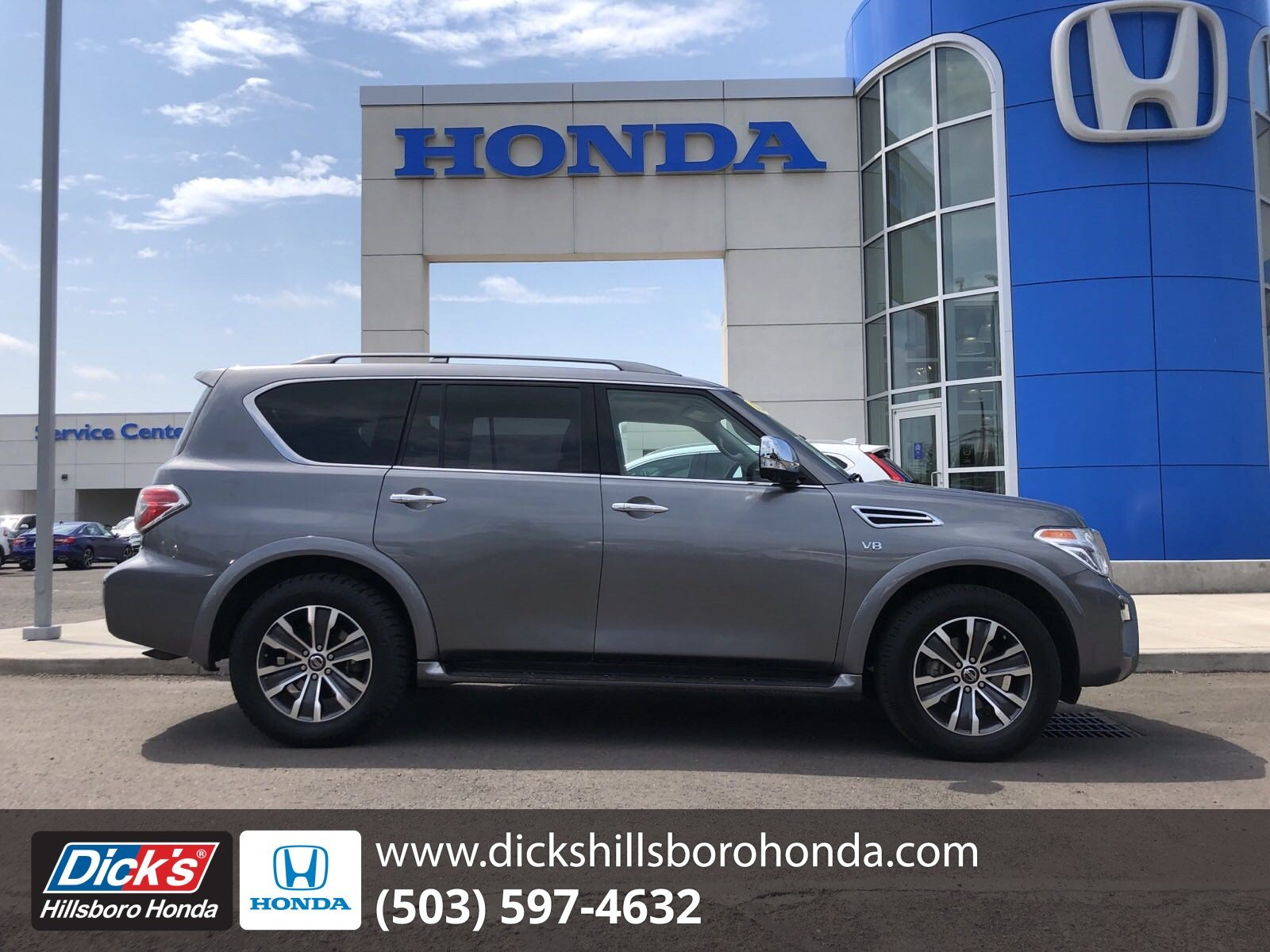 hight resolution of pre owned 2018 nissan armada sl