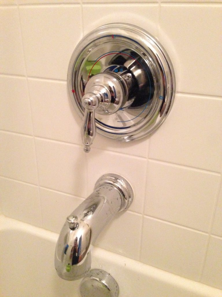 removing moen bathtub valve with a