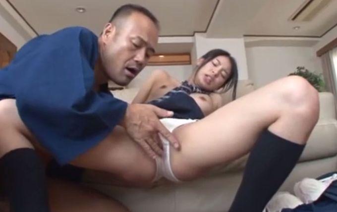 【長編】女子校生の娘にオナニーを目撃された父親が逆ギレして近親相姦レイプ!