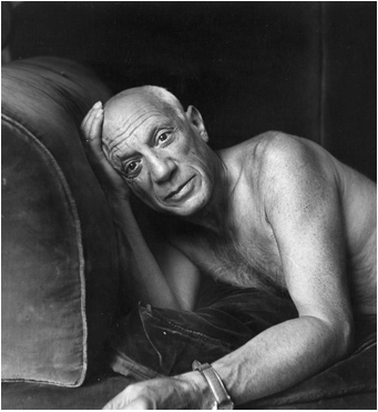 kvetchlandia: Jacques Henri Lartigue  Pablo Picasso  1955 i'm sorry, but this just made me think of…