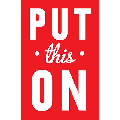 Put This On logo
