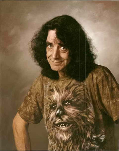 Peter Mayhew is Chewbacca sans costume