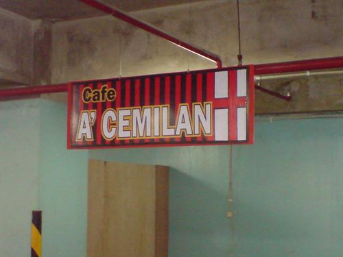 Cafenya Team AC MILAN - dari juriglagu