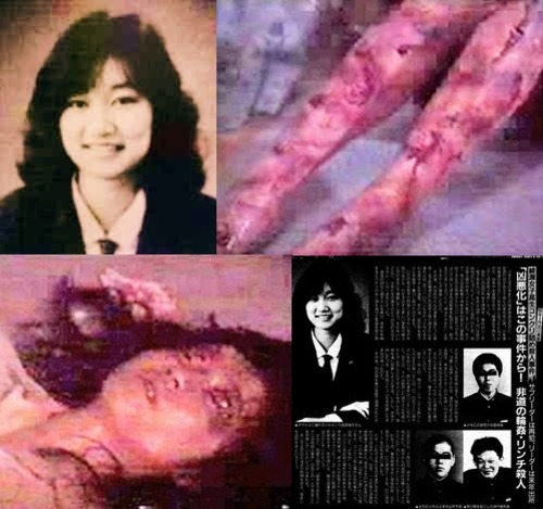 this is a picture of Junko Furuta. please reblog..