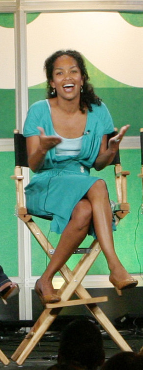 """""""That's what I've been trying to tell you all along!"""" says Mara Brock Akil emphatically, when an audience member comes to their senses and realizes that there's no such thing as a distinct Muslim look."""