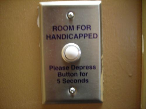 For five seconds I told the button others would treat it differently its whole life. Then the door opened.