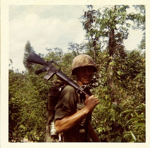"""We were getting too complacent and we paid for it.  Enemy ambush took eleven of our own."" Renegade Woods, April 1970"