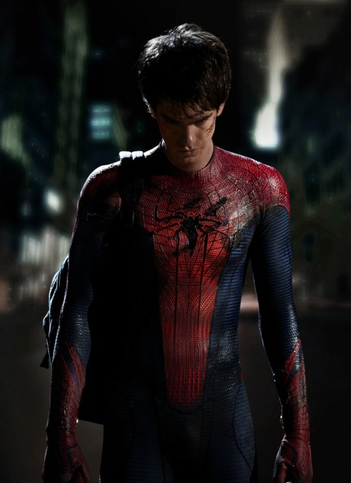 Andrew Garfield as Spider-Man. Epic.