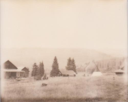 dunton hot springs. polaroid spectra.