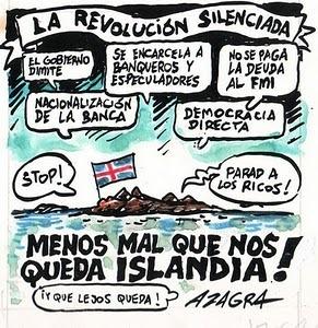 """La revolución silenciada… """"menos mal que nos queda #Islandia"""""""