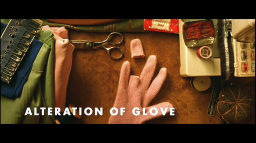Alteration of Glove