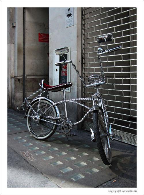 igsmith:</p> <p>Chrome Rider - found in Soho, London.Photo by Ian Smith</p> <p>Pure Porn