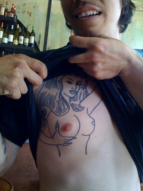tatoo pezón